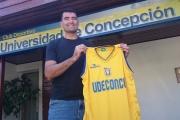 """""""Pato"""" Briones es la primera incorporación de BasketUdeconce 2015"""