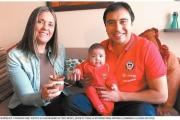 Familia chilena - argentina se divide en la final de la Copa Centenario